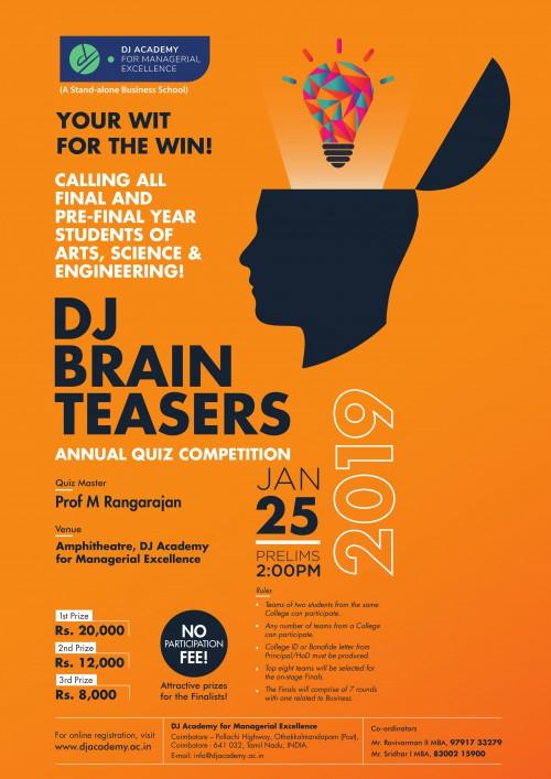 DJ Brain Teasers 2019
